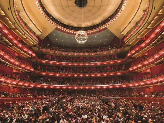 A look inside Newark's New Jersey Performing Arts Center.
