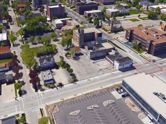 A large new state office building appears to be coming to a site at West Wisconsin Avenue and North 27th Street — if the development receives funding approval from the Legislature.