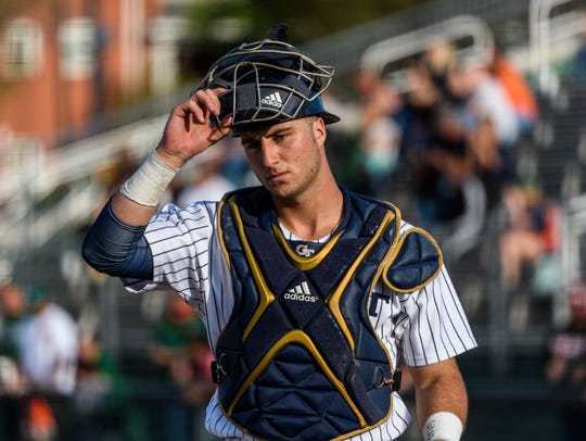 Georgia Tech catcher Joey Bart