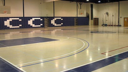 Camden County College is considering an upgrade to its Joseph Papiano Gymnasium