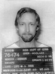 Prison mugshot of John Woolard released when he and