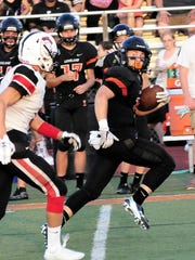 Loveland running back Luke Waddell spent much of his high school football career outracing opponents to the end zone.