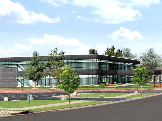 A 69,000-square-foot research and development facility