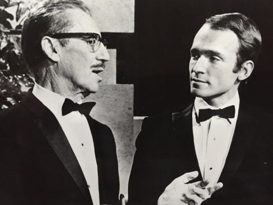 Groucho Marx and Dick Cavett