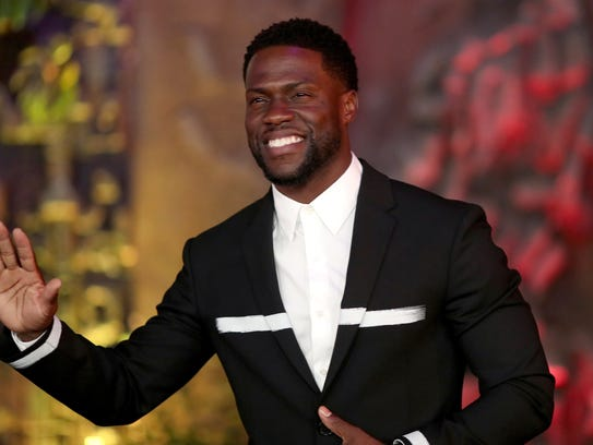 Kevin Hart attends the premiere of Columbia Pictures'
