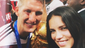 Adriana Lima posed with German soccer player Bastian Schweinsteiger and his newly won World Cup trophy after the 2014 FIFA World Cup final in Brazil.