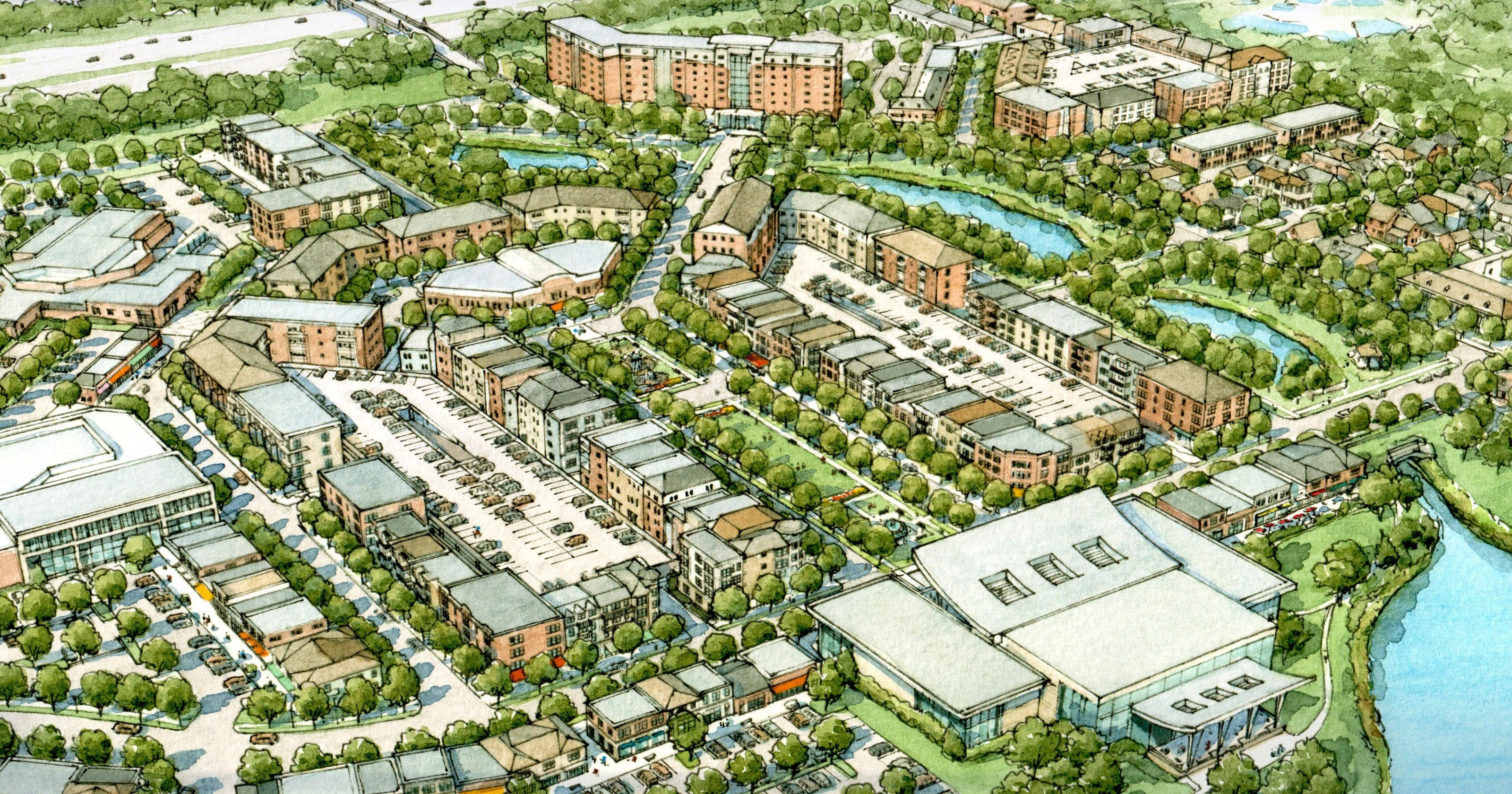 Troy proposal would create downtown center