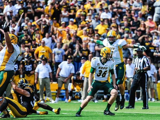 NCAA Football: North Dakota State at Iowa