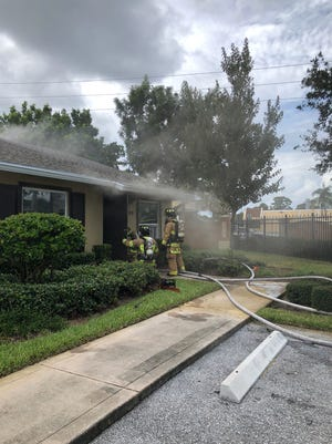 No one was hurt in a apartment fire on Thursday, police said.