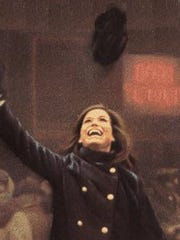 "Mary Tyler Moore is shown in opening sequence for the ""Mary Tyler Moore Show"""