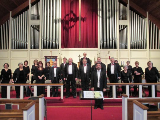 The Shrewsbury Chorale performs its annual holiday concert.