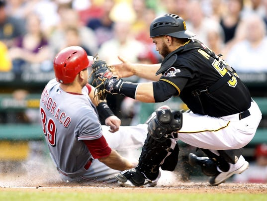 6-18-14 Cincinnati Reds at Pittsburgh Pirates
