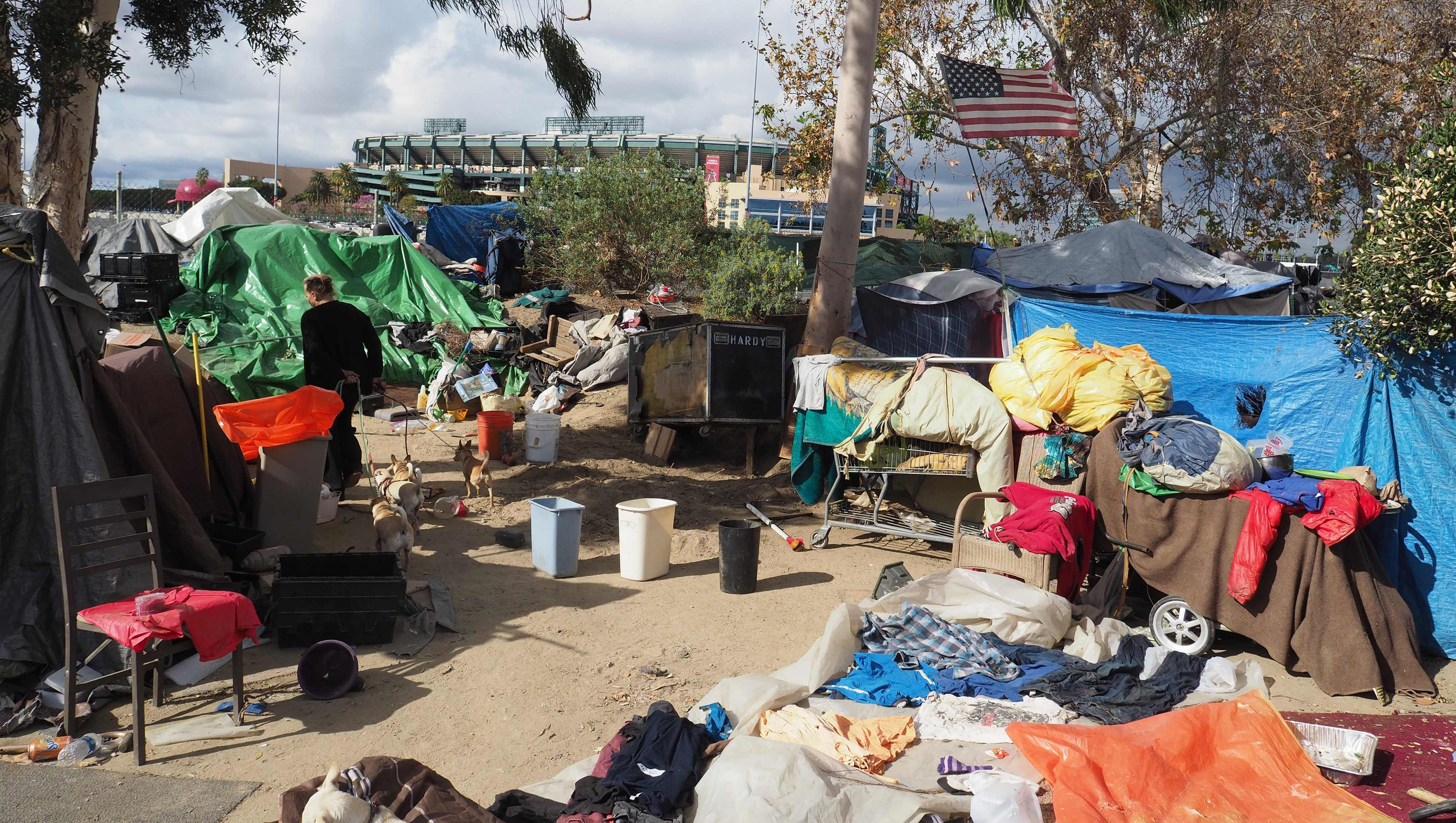 Massive homeless camp in California to get a visit from a ...