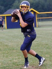 Easton Phalin will be Tomahawk's quarterback this season and is the lone returning starter on defense.