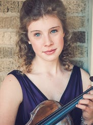 Violinist Fiona Shea will perform for the Abilene Philharmonic