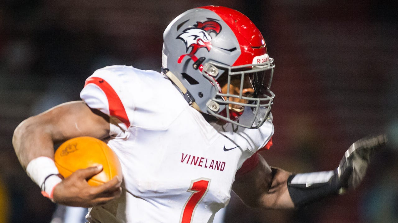 Vineland fell to Lenape on the road 35-0 in the first round of the NJSIAA Group V Playoffs on Friday, November 10.