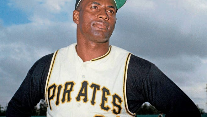 The Pittsburgh Pirates will honor Hall of Famer Roberto Clemente when they wear No. 21 against the Chicago White Sox on Sept. 9. The team believes this is an important step into having Clemente's number retired by Major League Baseball. [Pittsburgh Tribune-Review via AP file]