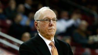 Syracuse Orange head coach Jim Boeheim.