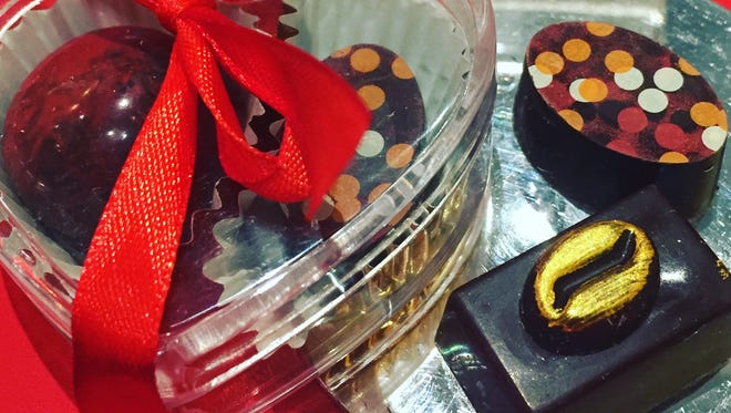 Chocolates by Dolce Federica for Valentine's Day
