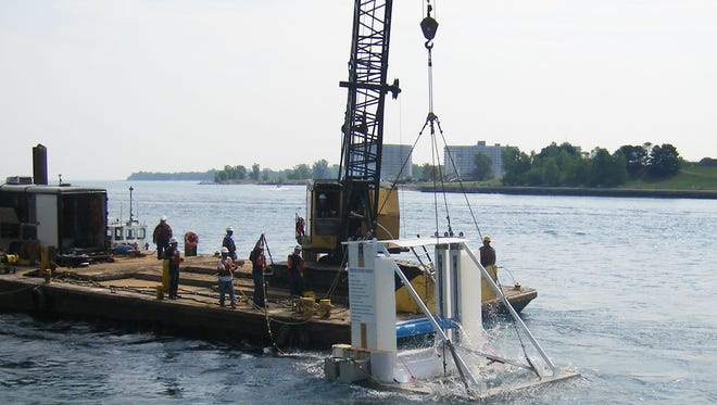 Michael Bernitsas, a U-M professor, invented the technology — called VIVACE, or Vortex Induced Vibrations for Aquatic Clean Energy. A prototype was put in the St. Clair River.