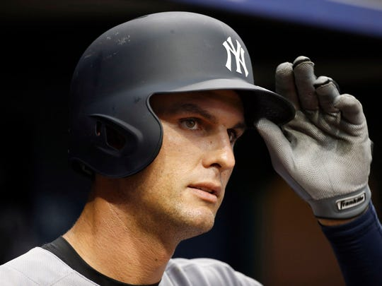 Yankees first baseman Greg Bird is hitting just .100 after going 0-for-4 against the Blue Jays on Monday. Despite his struggles, the Yankees aren't considering sending him to the minor leagues to work on his swing.