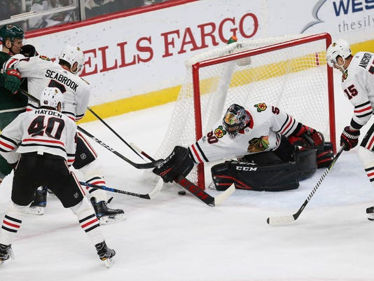 AP BLACKHAWKS WILD HOCKEY S HKN USA MN