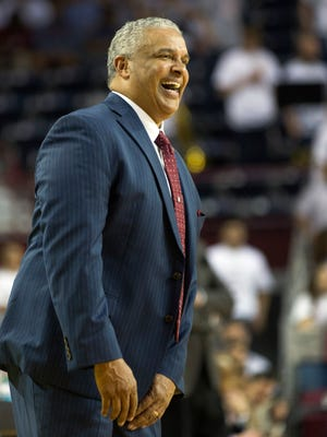 New Mexico State head coach Marvin Menzies was named the new UNLV head coach on Saturday. Menzies had a record of 198-111 in nine seasons in Las Cruces, including five Western Athletic Conference Tournament championships, five NCAA Tournament appearances, three WAC regular seasons titles and a NIT appearance.