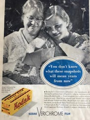 "An Eastman Kodak Co. ad from ""The Book of the Rochester"