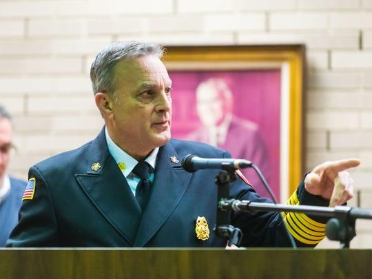 Vineland Fire Department Chief Luigi Tramontana Jr