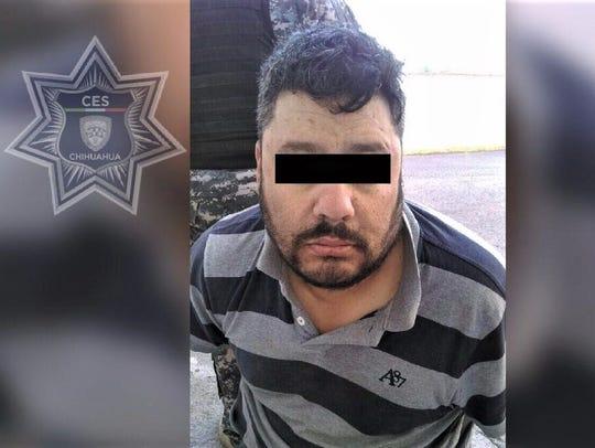 """Julio Cesar Escarcega Murillo, alias """"El Tigre."""""""