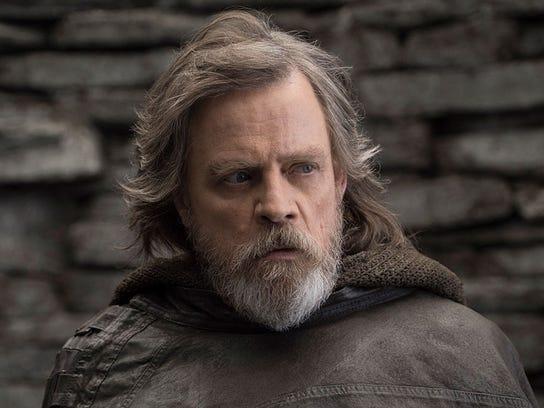 The return of Luke Skywalker (Mark Hamill) was a major draw for 'Star Wars' fans in 'The Last Jedi.'
