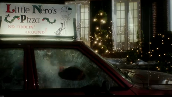 Little Nero's Pizza, no fiddlin' around.