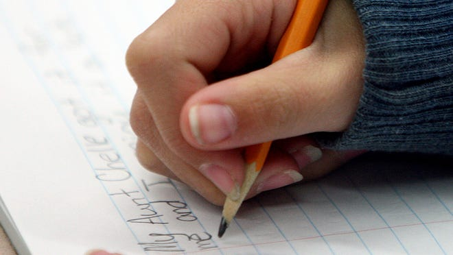 Students must take standardized tests in person.