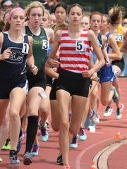 Glen Ridge's Liz O'Connell (5) was the Group 1 champion