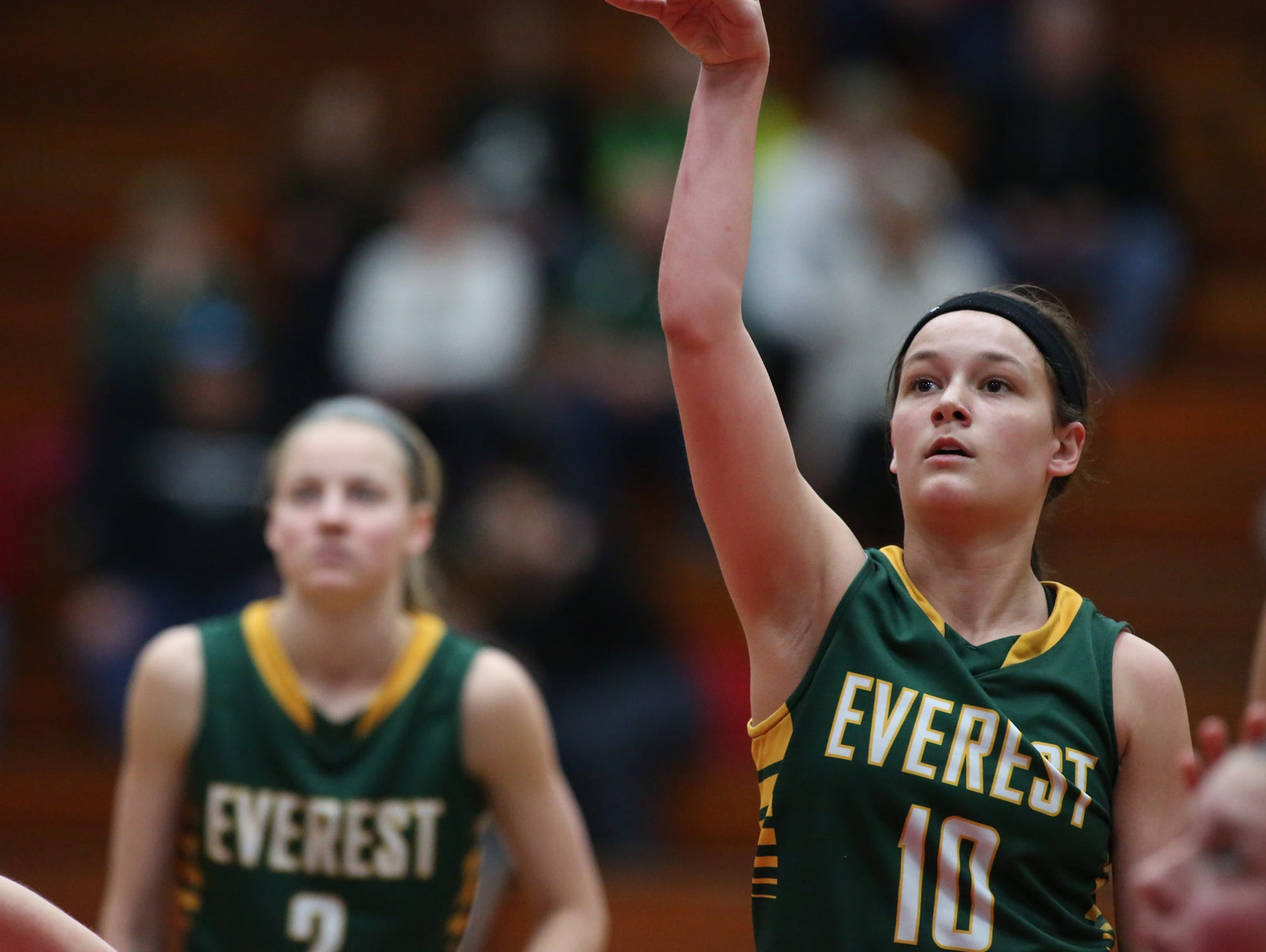 D.C. Everest's Taylor Petit is one of the top returning girls basketball players in the Wisconsin Valley Conference this season.