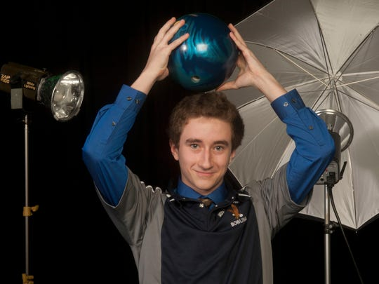 All-Shore Boys Bowler of the Year Brandon Lynch of Middletown South.