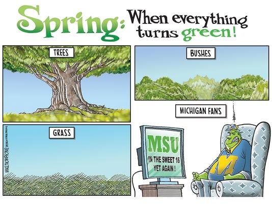 MSU Spartans reach the Sweet 16 yet again!