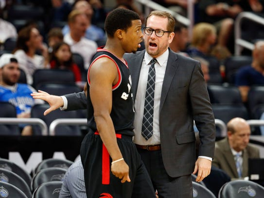 Iowan  Nick Nurse Tuesday became the Toronto Raptors coach
