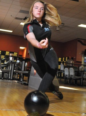 Danielle Koehler of Rockledge High was the state runner-up in state bowling.