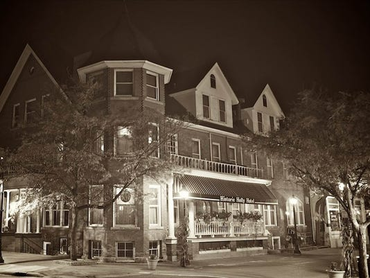 Holly Hotel at Night Haunted Dining