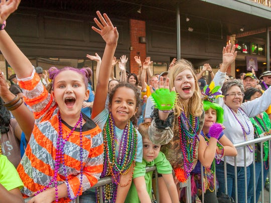 The Pensacola Mardi Gras Kick Off begins at 5 p.m. Saturday, Jan. 5.