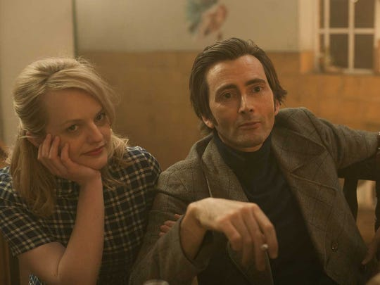 "Elisabeth Moss and David Tennant star in ""Mad To Be Normal,"" which screens at the Oxford Film Festival."