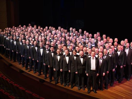 The New York City Gay Men's Chorus.