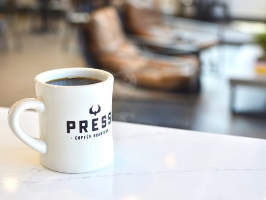 Coffee at Press Coffee.