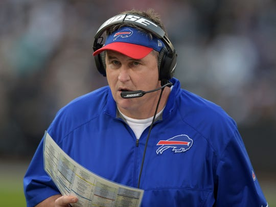 Doug Marrone admitted that he handled his exit from Buffalo poorly.