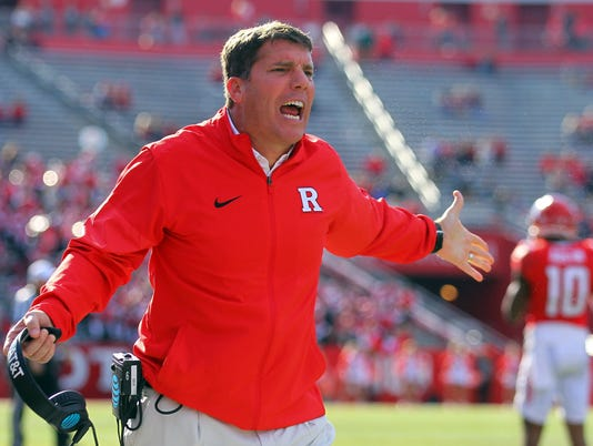 NCAA Football: Indiana at Rutgers