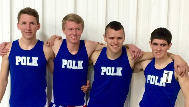 Polk County is one of the Western North Carolina schools involved in Saturday's NCHSAA 2-A track meet in Greensboro.