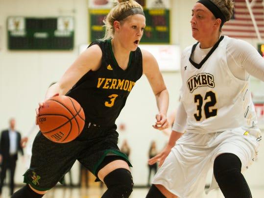UMBC vs. Vermont Women's Basketball 01/17/15