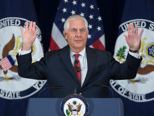 EPA USA STATE DEPARTMENT TILLERSON POL GOVERNMENT USA DC