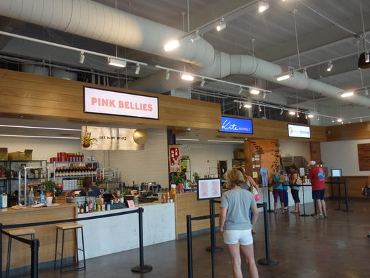 Workshop is an upscale food court with rotating vendors in Charleston, S.C.